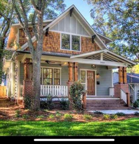 5 BR home near Spectrum Center. Great for RNC 2020