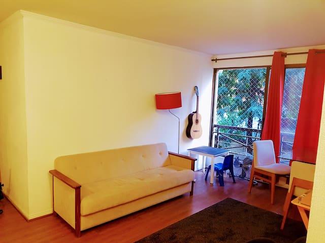 65sq mt flat w parking at Providencia - Las Condes - Providencia - Appartement