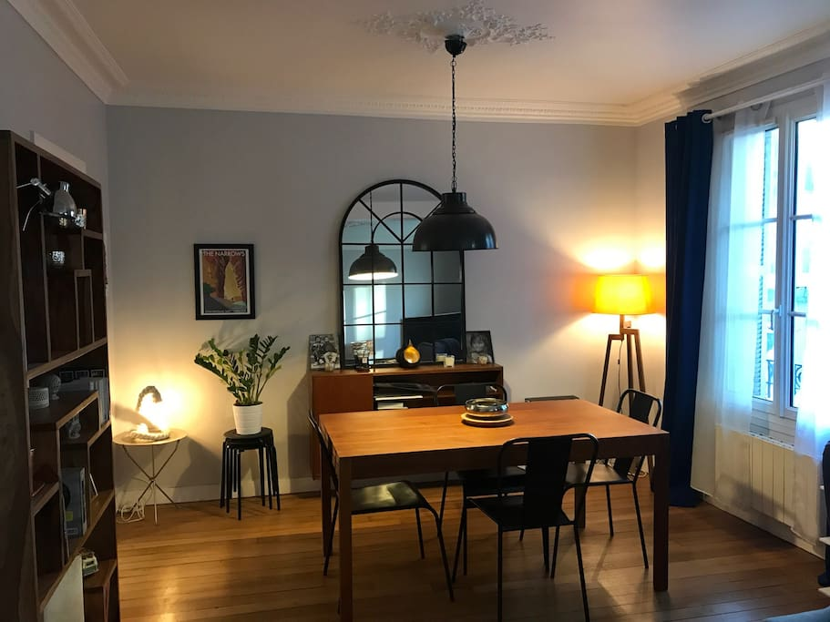 Living room of 28 m2