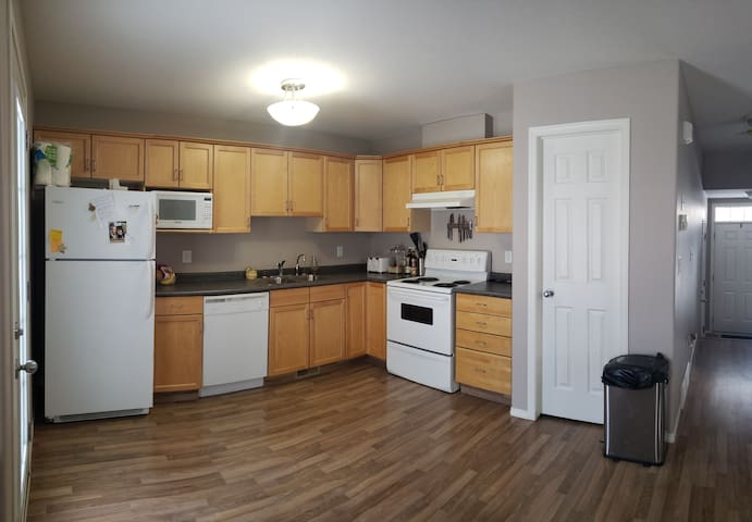 Our shared kitchen