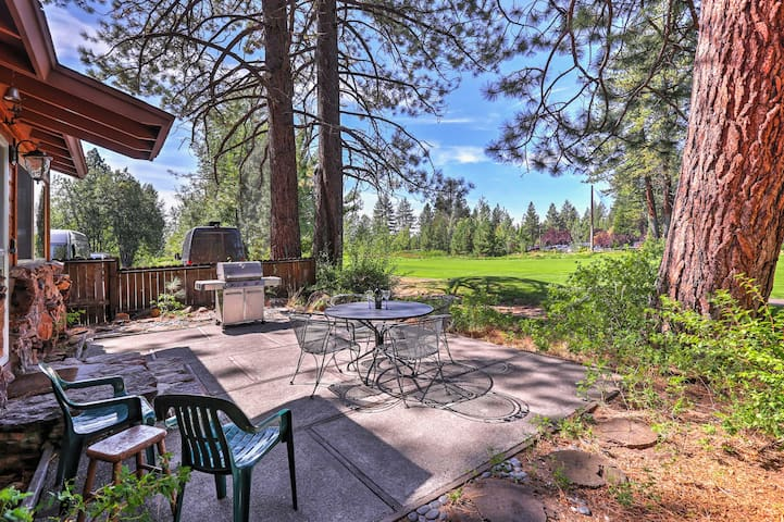NEW! 2BR Kings Beach Cabin on Golf Course!