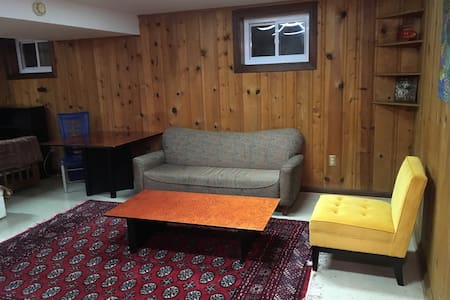 Cozy frnshd Basement Private ~NIH - Kensington - Huis