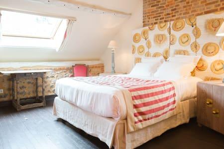 Honfleur Belle chambre La country - Honfleur - Bed & Breakfast