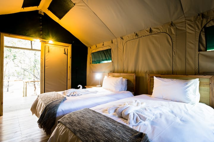 Bundox Safari Lodge - Tent with Shower 2