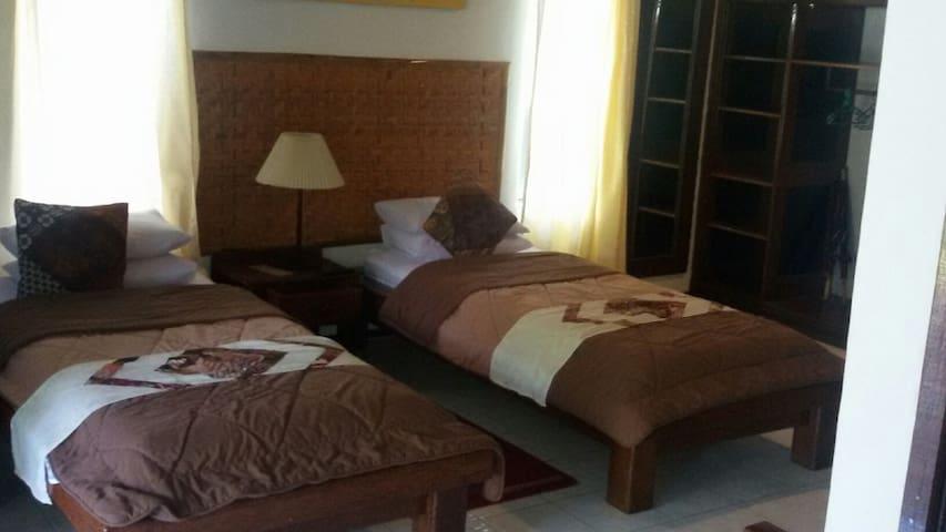 Fancy seaview suite in Sulawesi