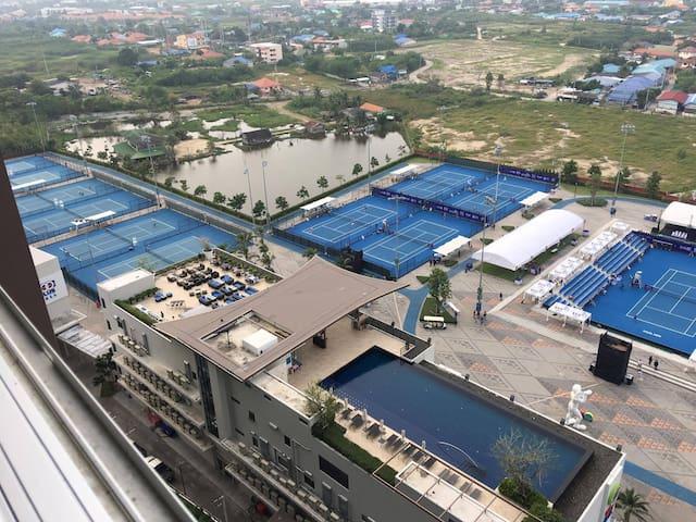 KF327 Amazing True Arena & Ocean View 16th Flr