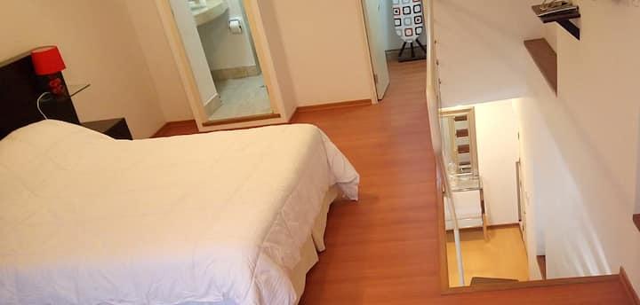 Loft apartment in Miraflores / Departamento duplex