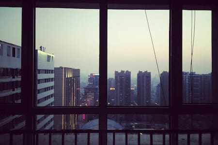 Sunny downtown studio - Qingdao - Appartement