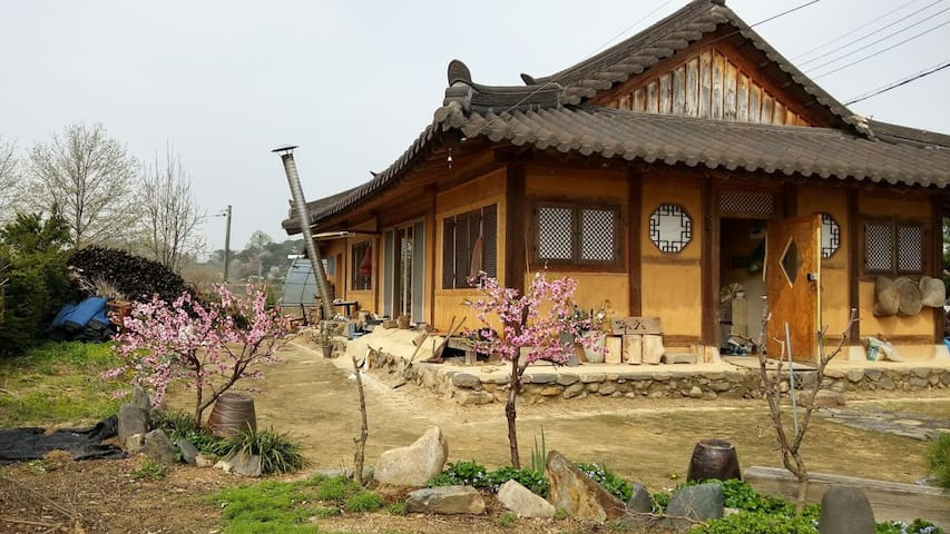 Korean traditional+modernize Hanok w/ clay bricks - Cheongju-si - Hus