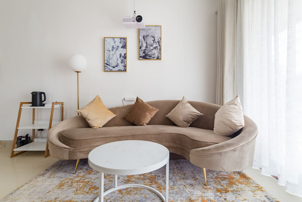 北欧沙发茶几 Sofa and Tea Table