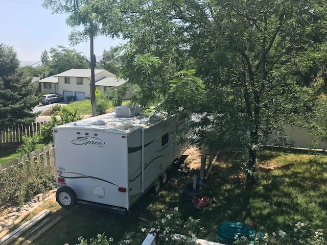 Private Clean Camp Trailer