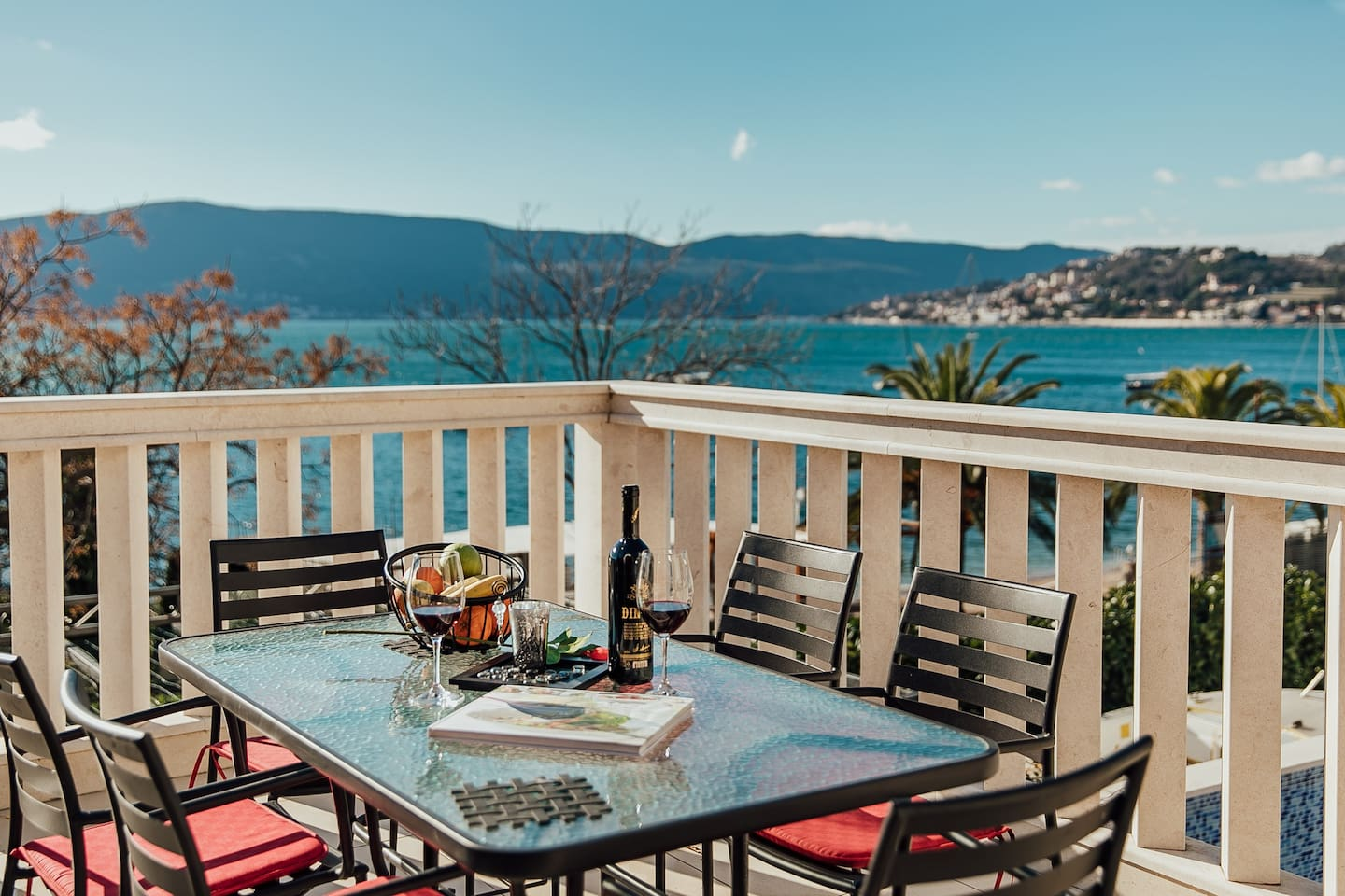 Teracce with beautiful sea view