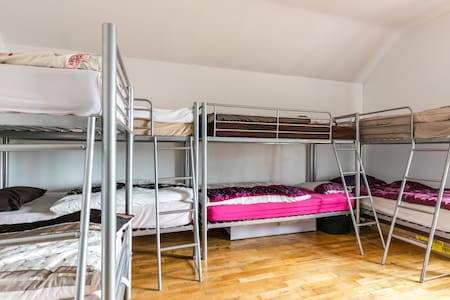 Slemish Barn: Shared dormitory - Dormitório