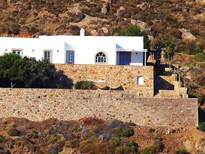 Sea front Villa at Patmos - Grikos