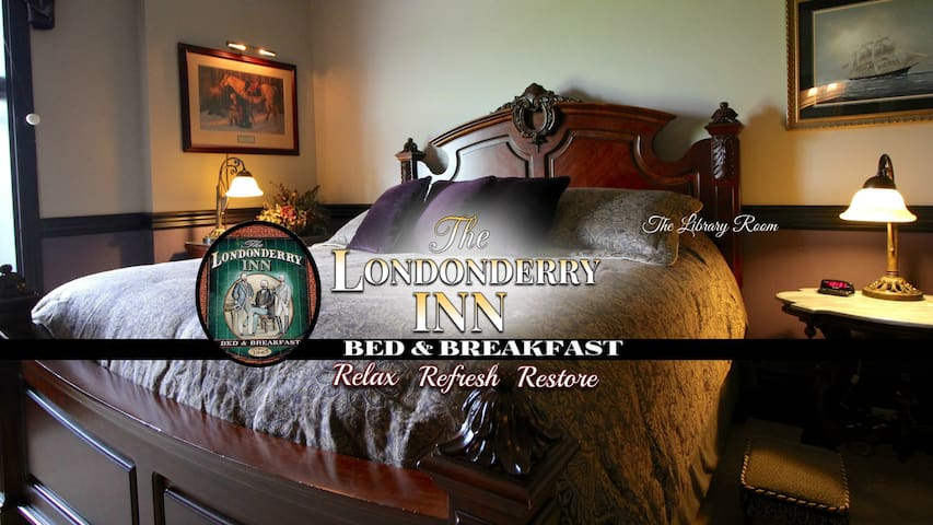 THE LONDONDERRY INN B&B's Library Room - Palmyra - Bed & Breakfast