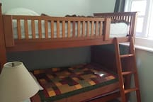 Bedroom 6 - single bunks attached to bdrm 5