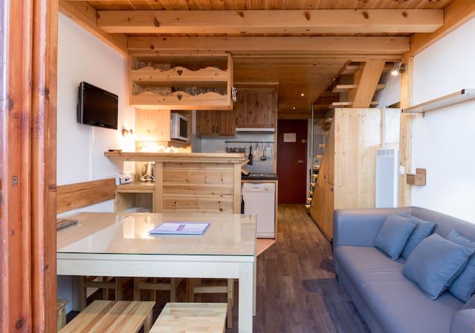 ARC 1800, Joli Duplex - Bourg-Saint-Maurice - Apartment