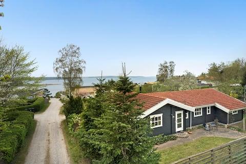 Aftensol over fjorden