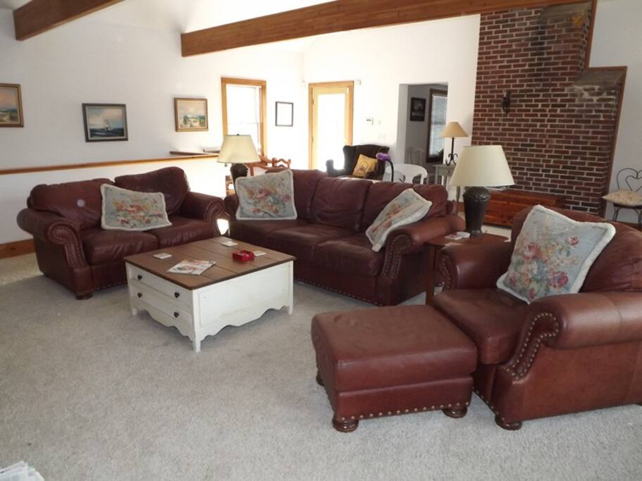 This great room is so comfortable and inviting, hard not to want to show it off