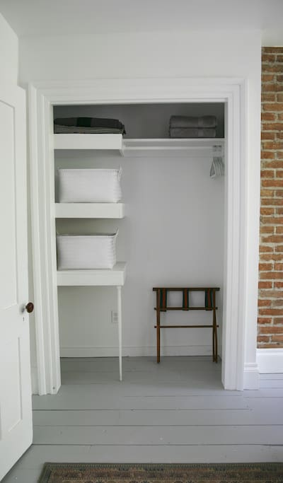 Large Closet in Bedroom.