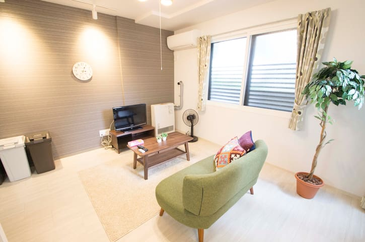 ONLY FOR LADIES!/7mins to Sapporo sta/New apt A2