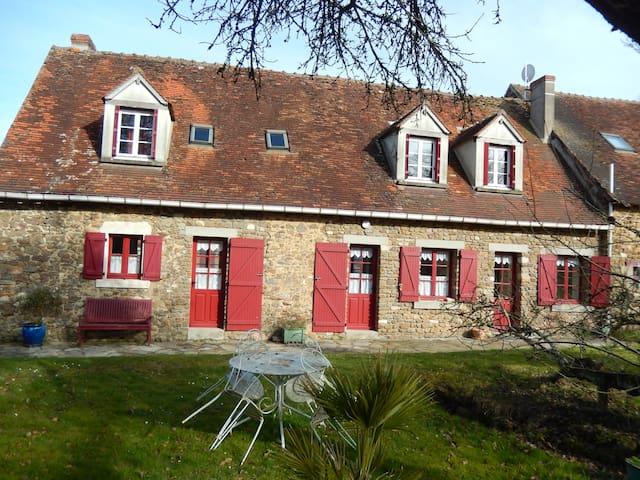 Maison de campagne avec un étang - Parnac - Rumah