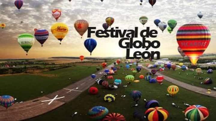 Hospédate con nosotros para el festival del globo