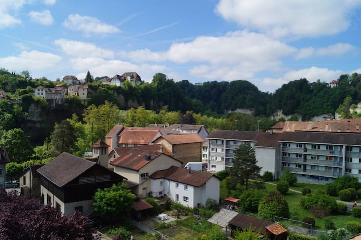 Apartment In Old Town Of Fribourg & Stunning view - Fribourg - Apartment