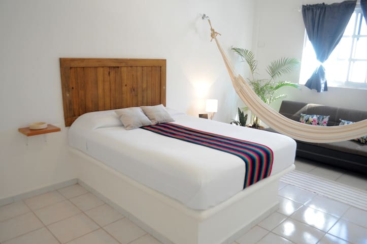 Grand & Private Flat in Tulum Downtown