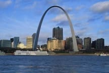 Only 23 miles from the St. Louis Gateway Arch and downtown St. Louis, MO. What are you waiting for?