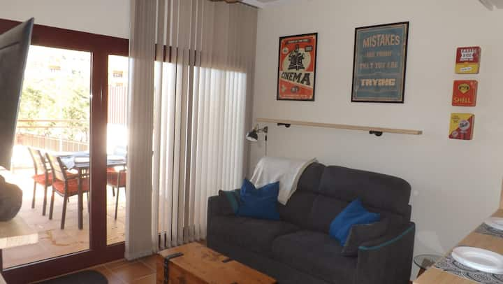 Coqueto apartamento totalmente equipado.