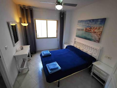 Centrally located apartment, 5 min. from the beach