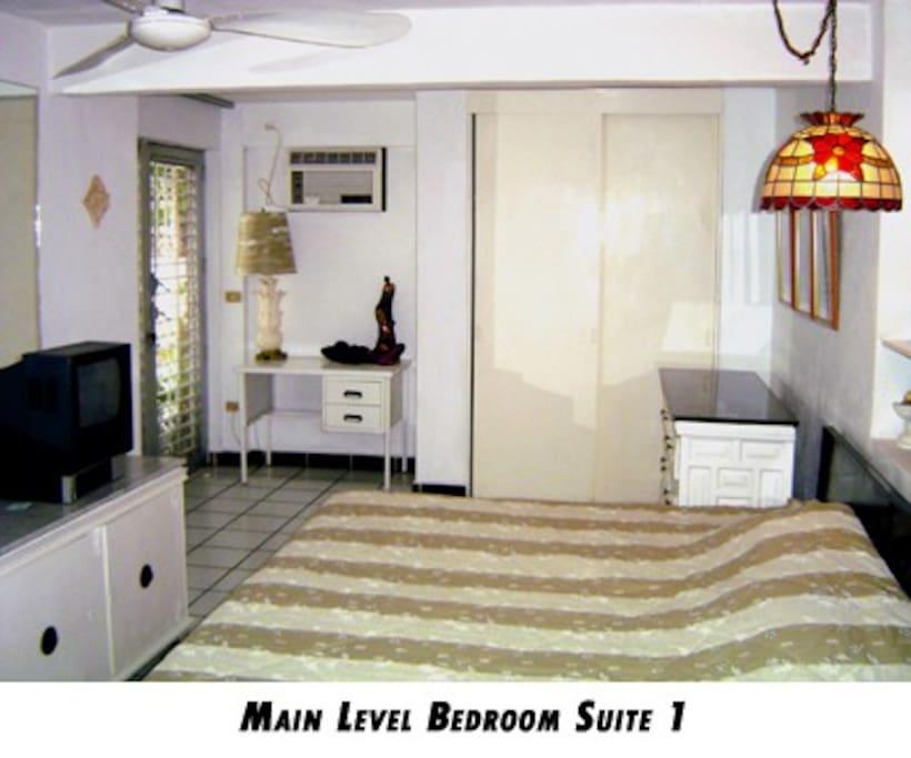 Plaza level  bedroom #1
