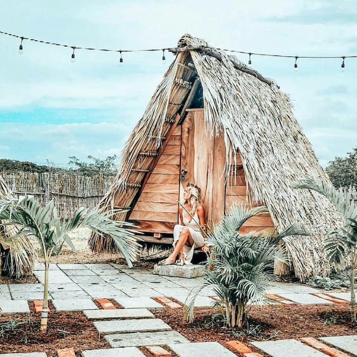 Tipi tent #4 - Aloha bungalows surf lodge
