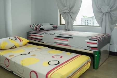 Cozy Condo in Cubao, QC for Staycations and more! - Quezon City - Kondominium
