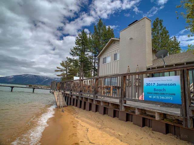 6bd/3ba - Beach Front Cabin Duplex