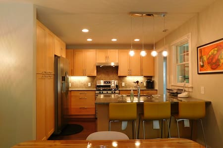 Contemporary Cottage - walk to Downtown Brevard! - Brevard