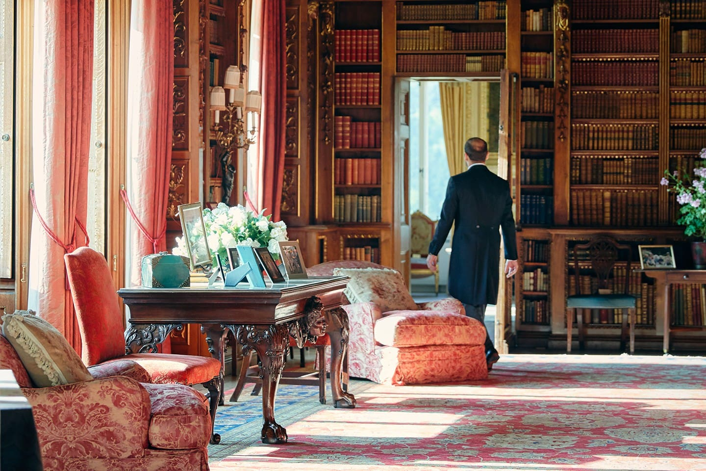 Enjoy a private tour of Highclere Castle and its extensive grounds