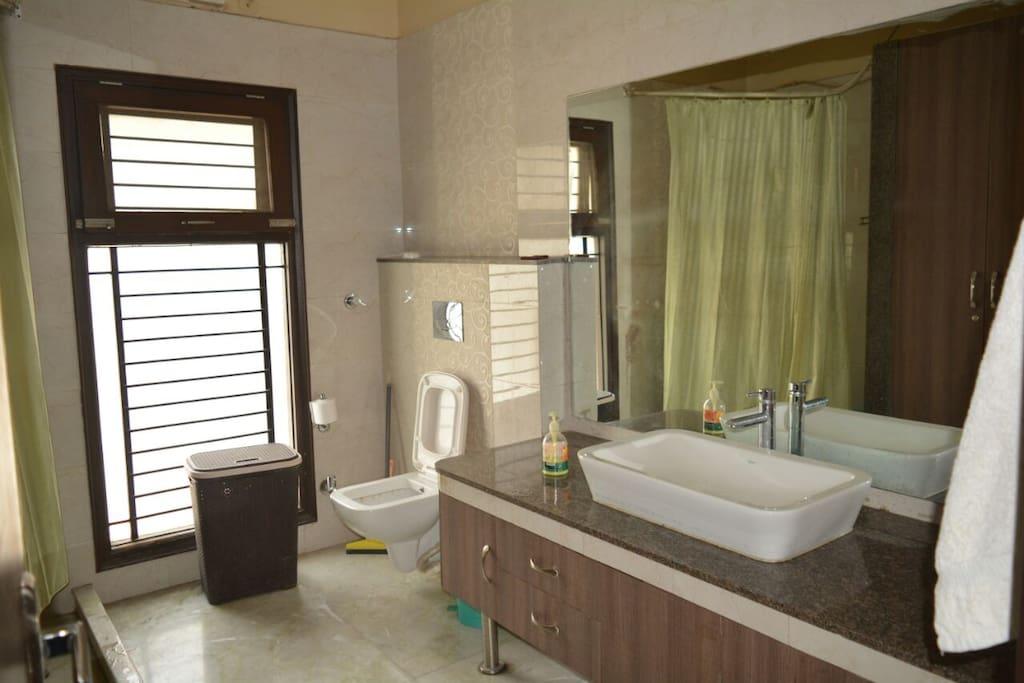 Washroom, Master Bedroom