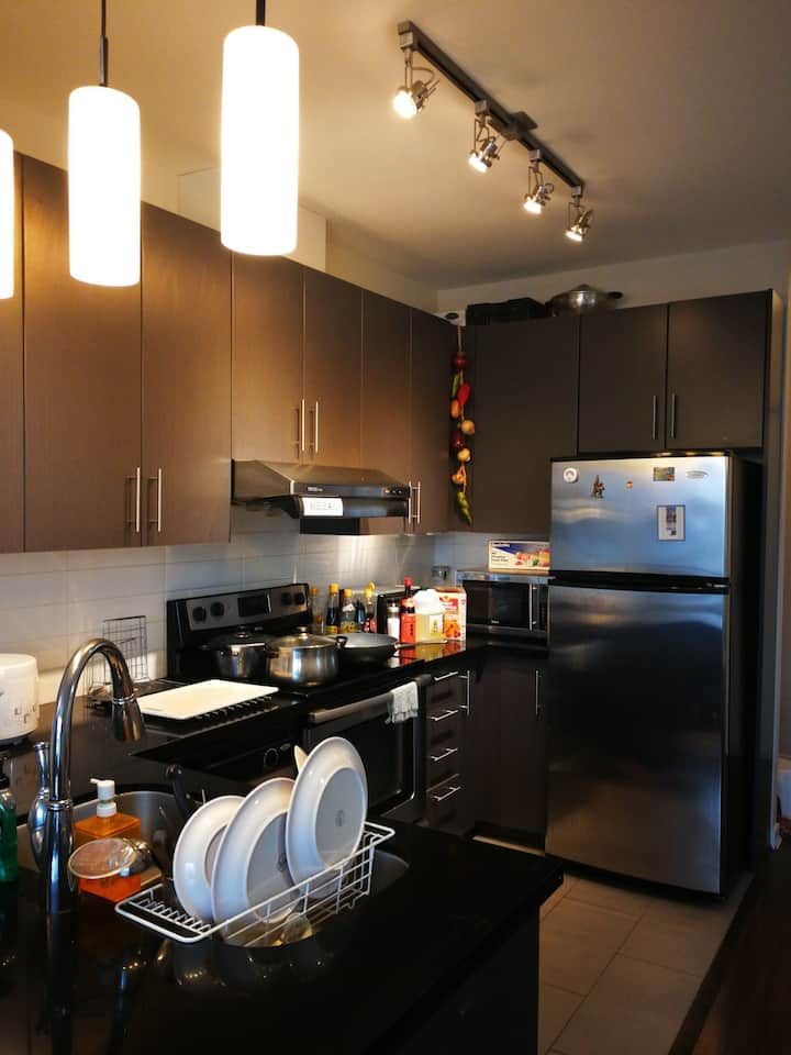 Metrotown  New Private One Bedroom Apartment