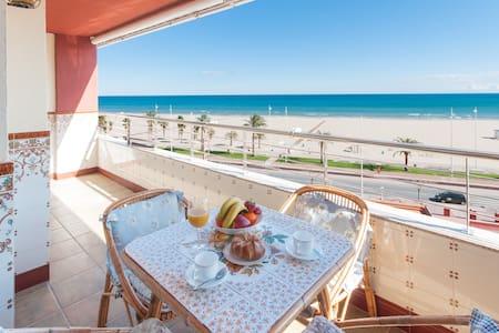 Apartamento en primera linea con vistas al mar - Grau i Platja - Departamento