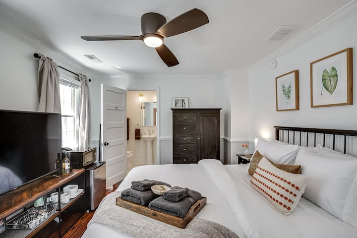 Charming Downtown 1 BR Suite