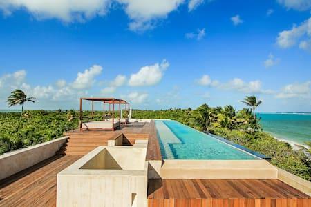 Villa Na'iik Spectacular Tulum beachfront - Tulum - Villa