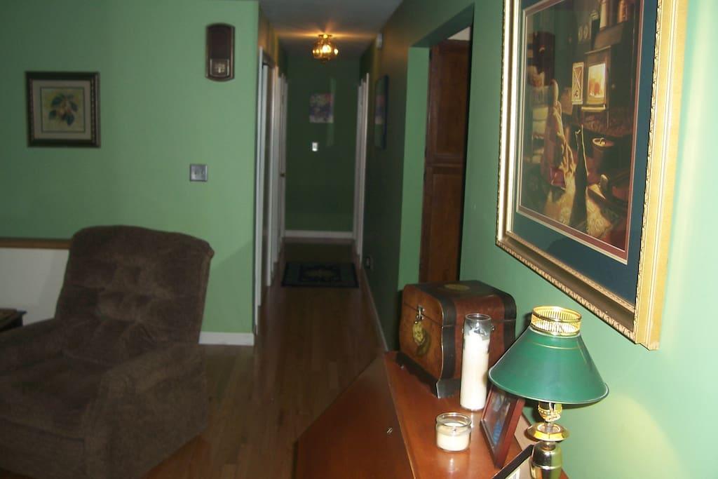 Living Room/ Hallway