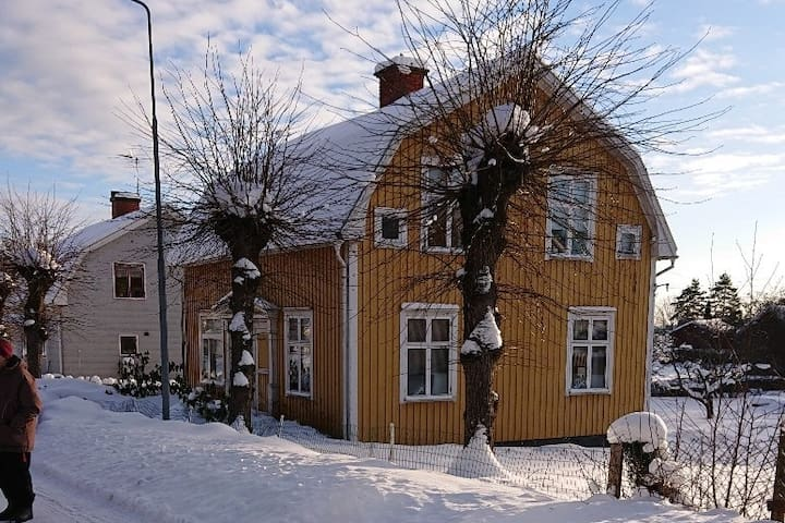 Hus i centrala Lysvik