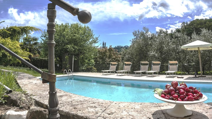 Tuscany- Lucca with private pool at exclusive use!