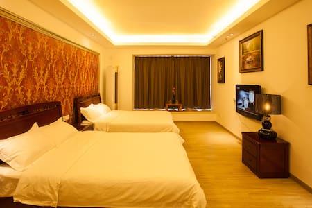 长隆景观双床豪华大房(50平方米)——房东清洁,卫生整洁! - Guangzhou - Appartement