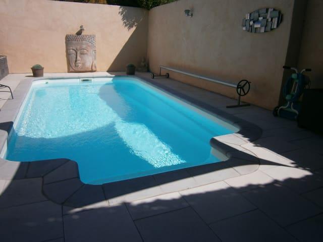 maison avec piscine - La Redorte - Casa