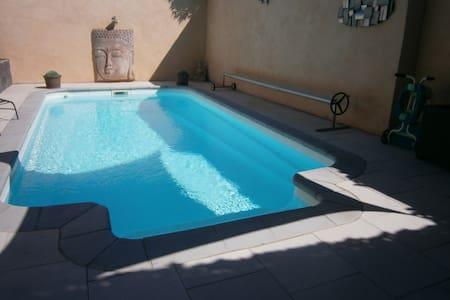 maison avec piscine - La Redorte - Rumah