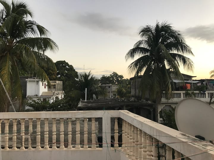 Cap Haitien getaway with private rooftop